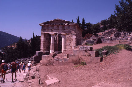 Delphi Anthenian Temple